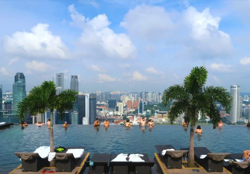 Marina Sands Bay Infinity Pool