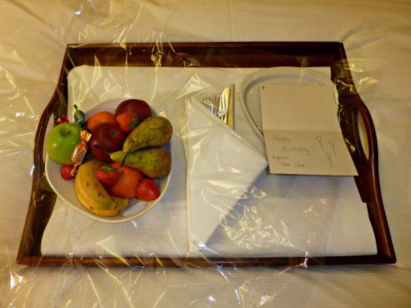 Hilton Stockholm Slussen fruit basket