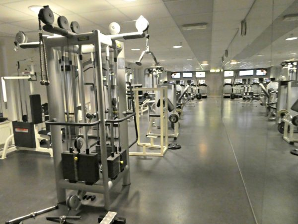 Hilton Stockholm Slussen gym