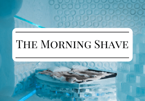 The Morning Shave 2017-01-14