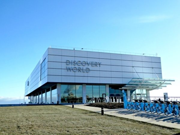 best things to do in Milwaukee Discovery World exterior