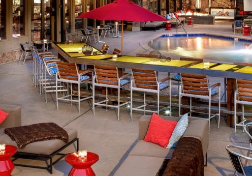 Kimpton Sky Hotel pool area