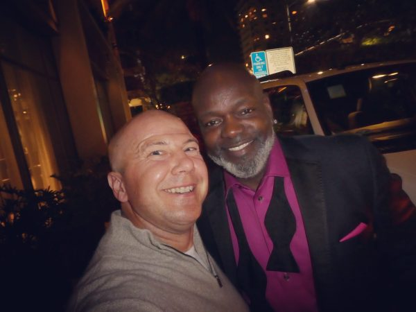 Kimpton Palomar Los Angeles Wine Hour Emmitt Smith
