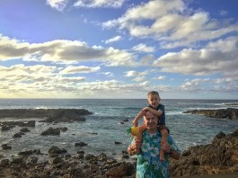 North Shore Hawaii with Timmy in March 2016