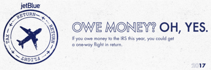 JetBlue tax returns