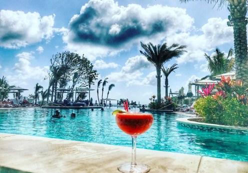 Kimpton Seafire Resort pool and drinks