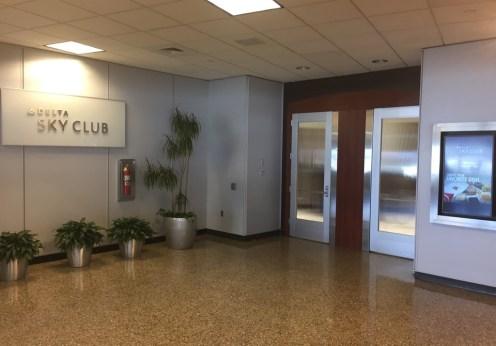 Delta Sky Club Salt Lake City