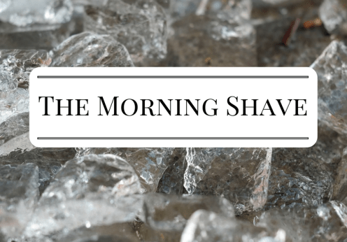 The Morning Shave 2017-06-05