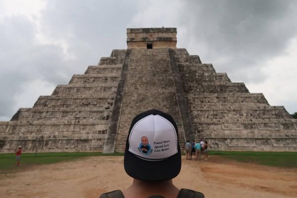 Travel More Spend Less Live Better trucker hat