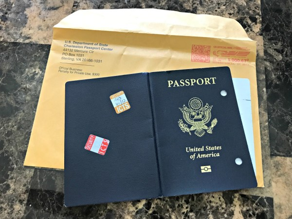 How to renew a Passport old passport