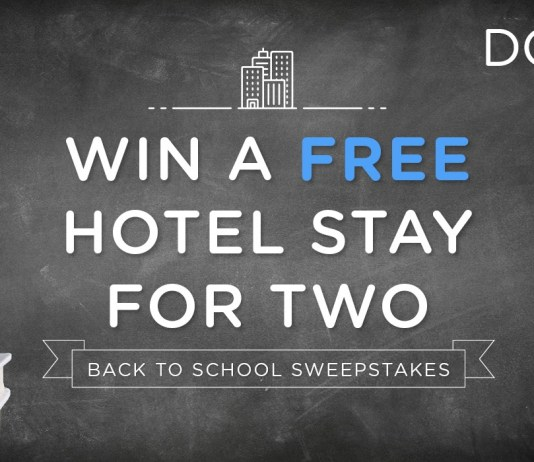 Dosh win a free hotel stay for two