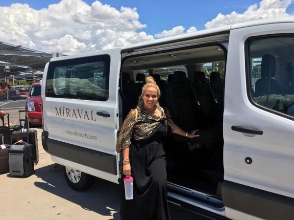 Hyatt Miraval Resort airport shuttle