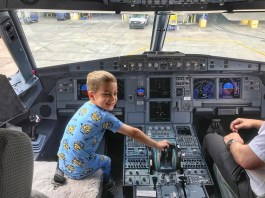 Miami to Grand Cayman American Airlines pilot Timmy