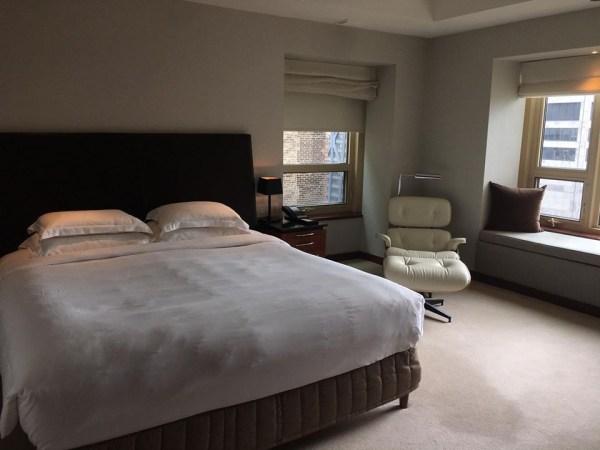 Park Hyatt Chicago suite upgrade bedroom