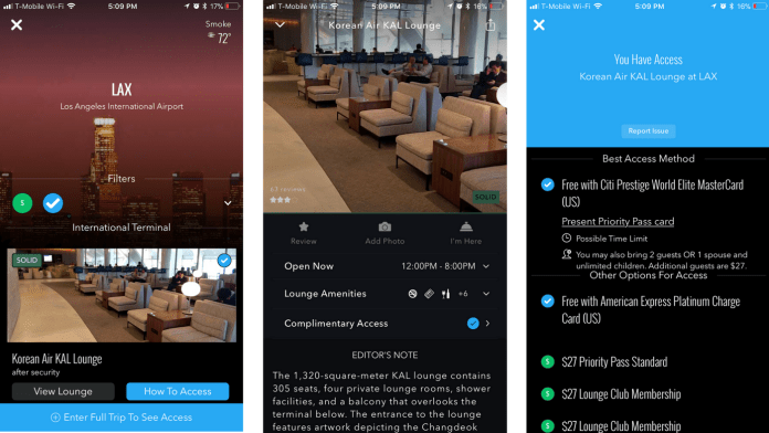 How to Have a Better Airport Experience. A LoungeBuddy Review. LoungeBuddy LAX KAL Lounge Priority Pass