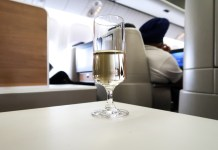 Swiss Air Champagne