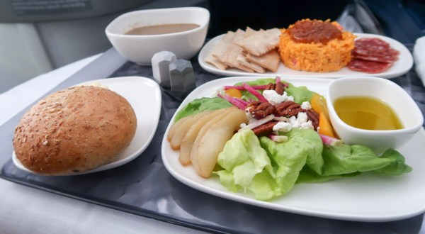 Delta ONE A330 Appetizer