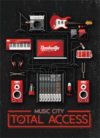 Visit Music City Nashville Total Access Pass Front