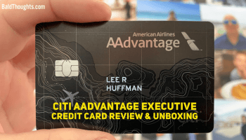 Is This Card Worth $7? Citi AAdvantage Executive Credit Card