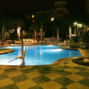 Marriott Grande Vista Orlando timeshare pool area