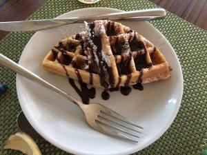 Delicias gourmet waffle