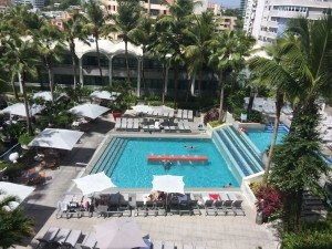 La Concha Renaissance Ocean Tower pool