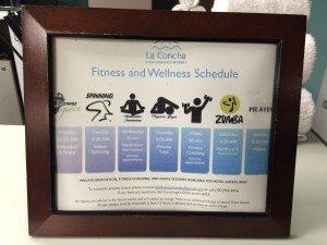 La Concha Renaissance exercise class schedule