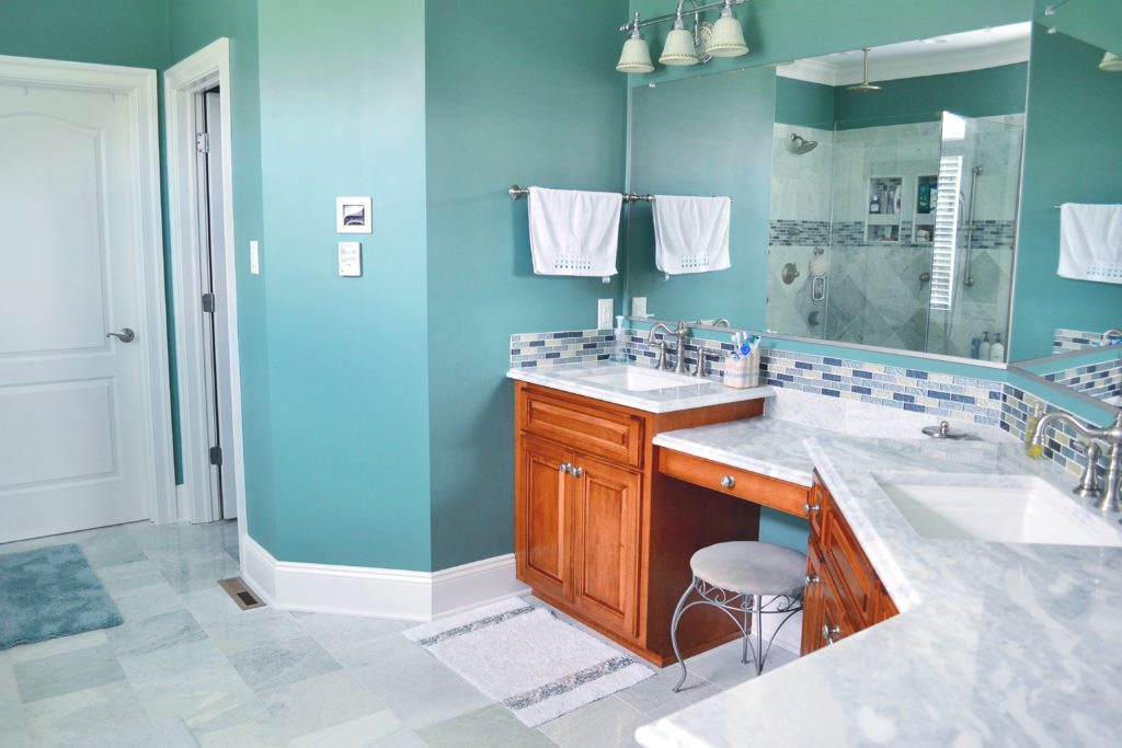 bathroom renovation added value
