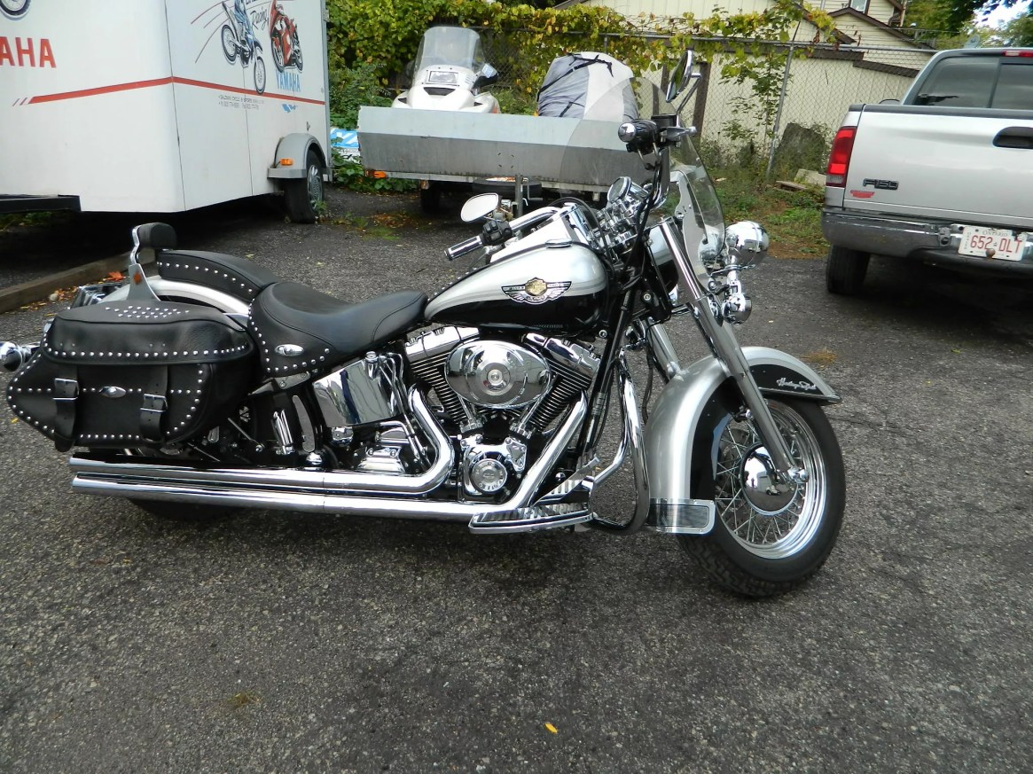 used 2003 harley davidson heritage softail classic street touring motorcycle for sale