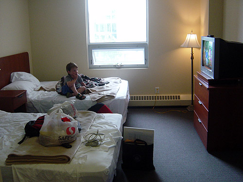 conference hotel room