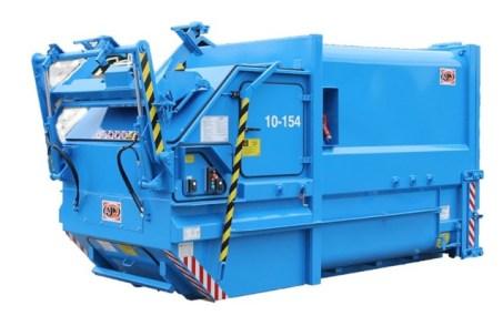 Skip-Lift Compactor - Bin-Lifter