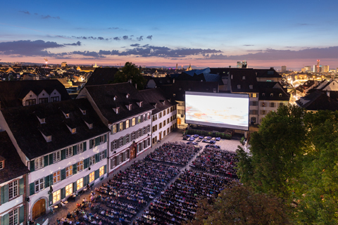 SCHWEIZ BASEL ALLIANZ CINEMA Openair-Kino 2018 Photo Dominik Baur
