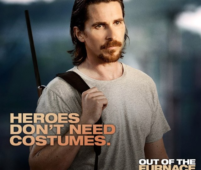 Amazing New Christian Bale Promo Photo Out Of The Furnace