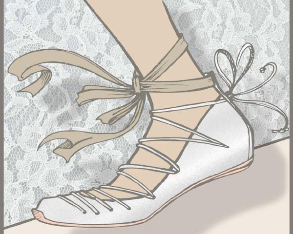 Sapatilhas com amarrações: para quem não gosta de saltos (Foto: Divulgação)