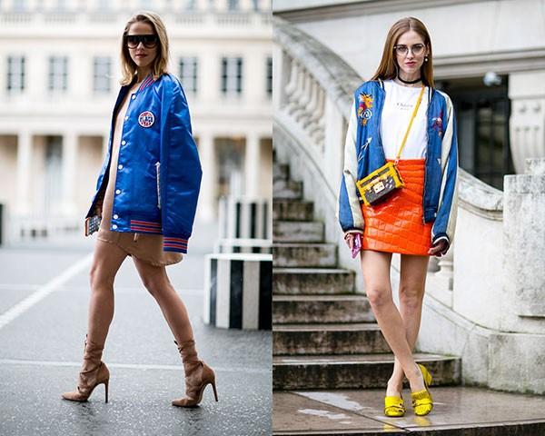 As bomber jackets são uma ótima opção para quem está começando no look (Foto: Imaxtree)