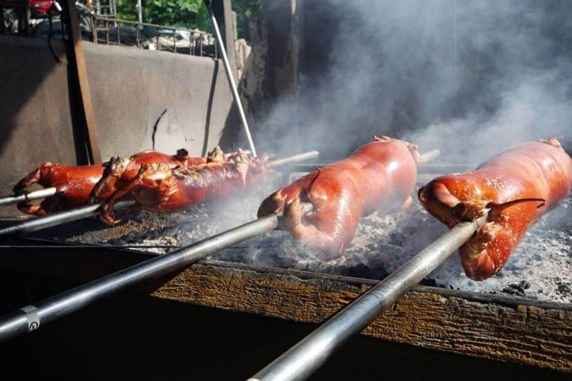 Lechon alias babi guling ala Cebu