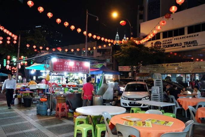 Alor Street Kuala Lumpur
