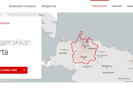 Uber Jakarta, Indonesia