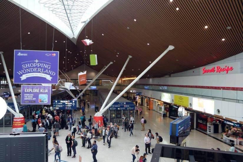 Suasana di KLIA Airport