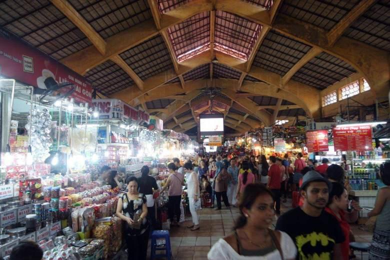 Bagian dalam Ben Thanh Market