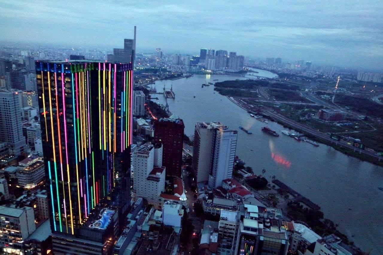 [3rd Anniversary Trip] Hari Kelima: Menikmati Ho Chi Minh Dari Bitexco Tower Lantai 49