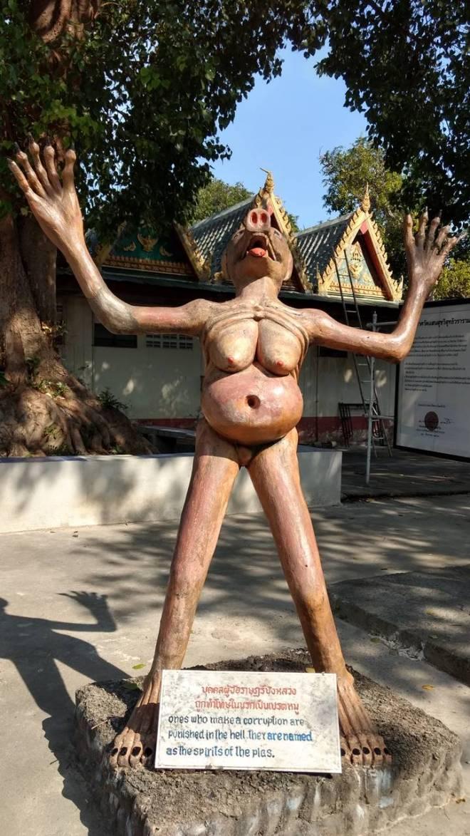 Koruptor di taman neraka Wang Saen Suk
