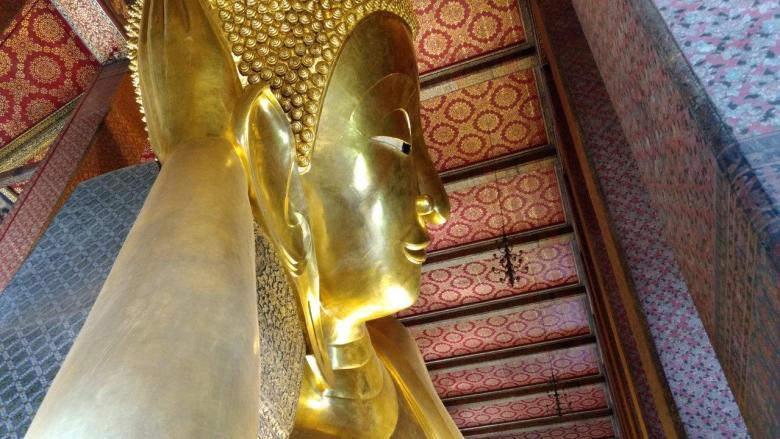 Reclining Buddha Wat Pho Bangkok