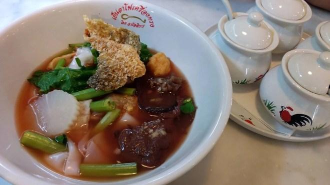 Sarapan Sop Babi Bangkok Thailand
