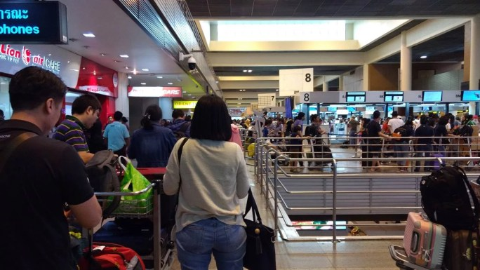 Thai Lion Air DMK Airport