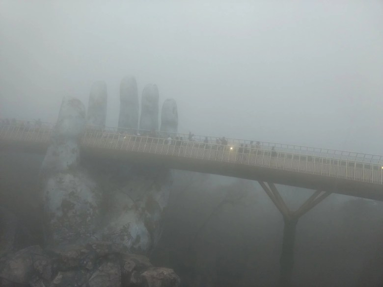 Golden Bridge Ba Na Hills Vietnam