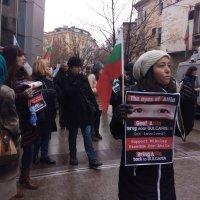 """Протест """"Един за всички, Всички за Атила!"""" пред посолството на Холандия"""
