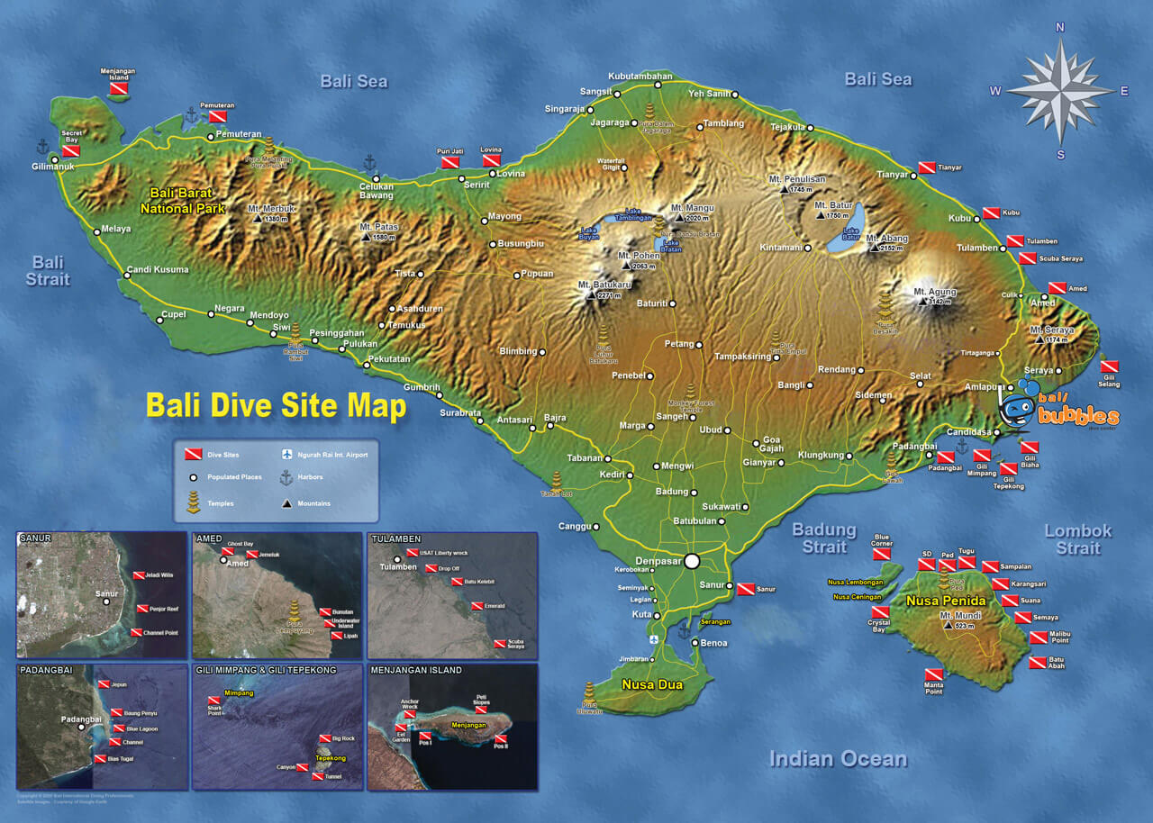 dive sites, Our Dive Sites