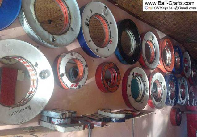 Oildrm1-25 Recycled Oil Drum Home Decors Bali Indonesia