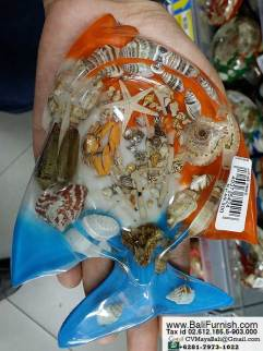 Resin Animal Ashtrays Bali Indonesia